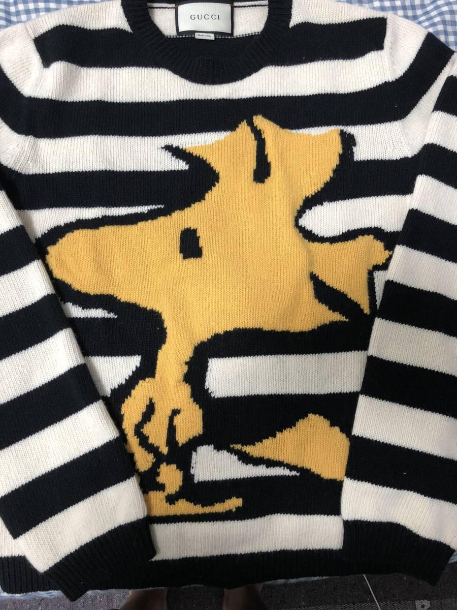 0ea974f570d Gucci GUCCI sweater PEANUTS Woodstock AAA west island   Real Yahoo ...
