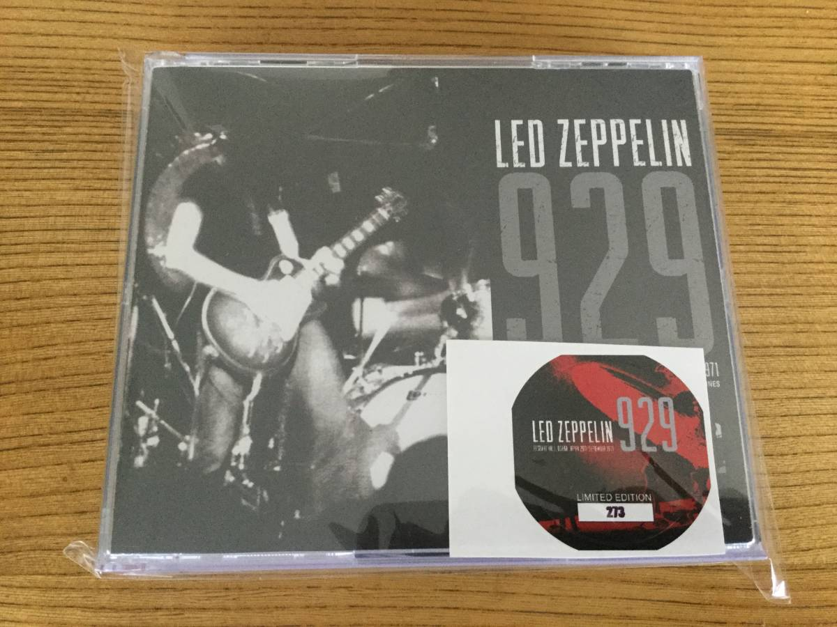 LED ZEPPELIN / 929 FESTIVAL HALL, OSAKA  JAPAN 29TH SEPTEMBER 1971