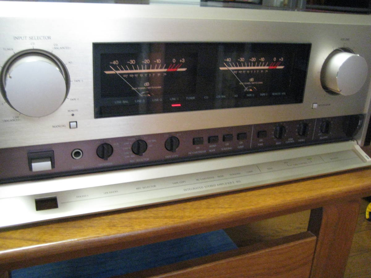 Accuphase アキュフェーズ プリメイン アンプ E-405_画像2
