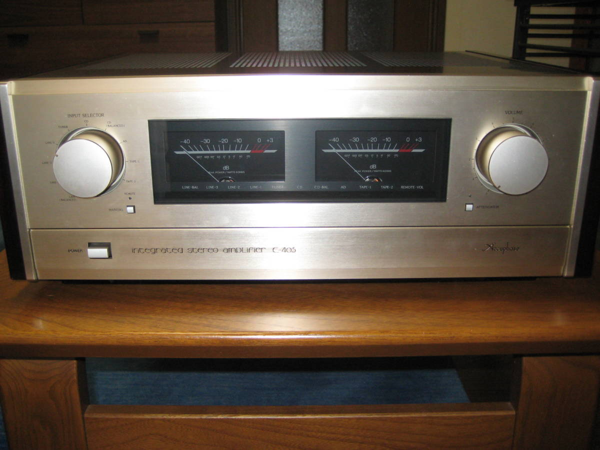 Accuphase アキュフェーズ プリメイン アンプ E-405