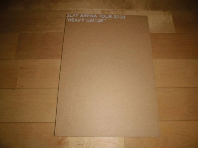 ツアーパンフレット//GLAY ARENA TOUR 2000 HEAVY GAUGE_画像1