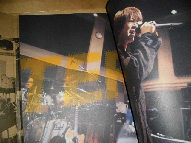 ツアーパンフレット//GLAY ARENA TOUR 2000 HEAVY GAUGE_画像3