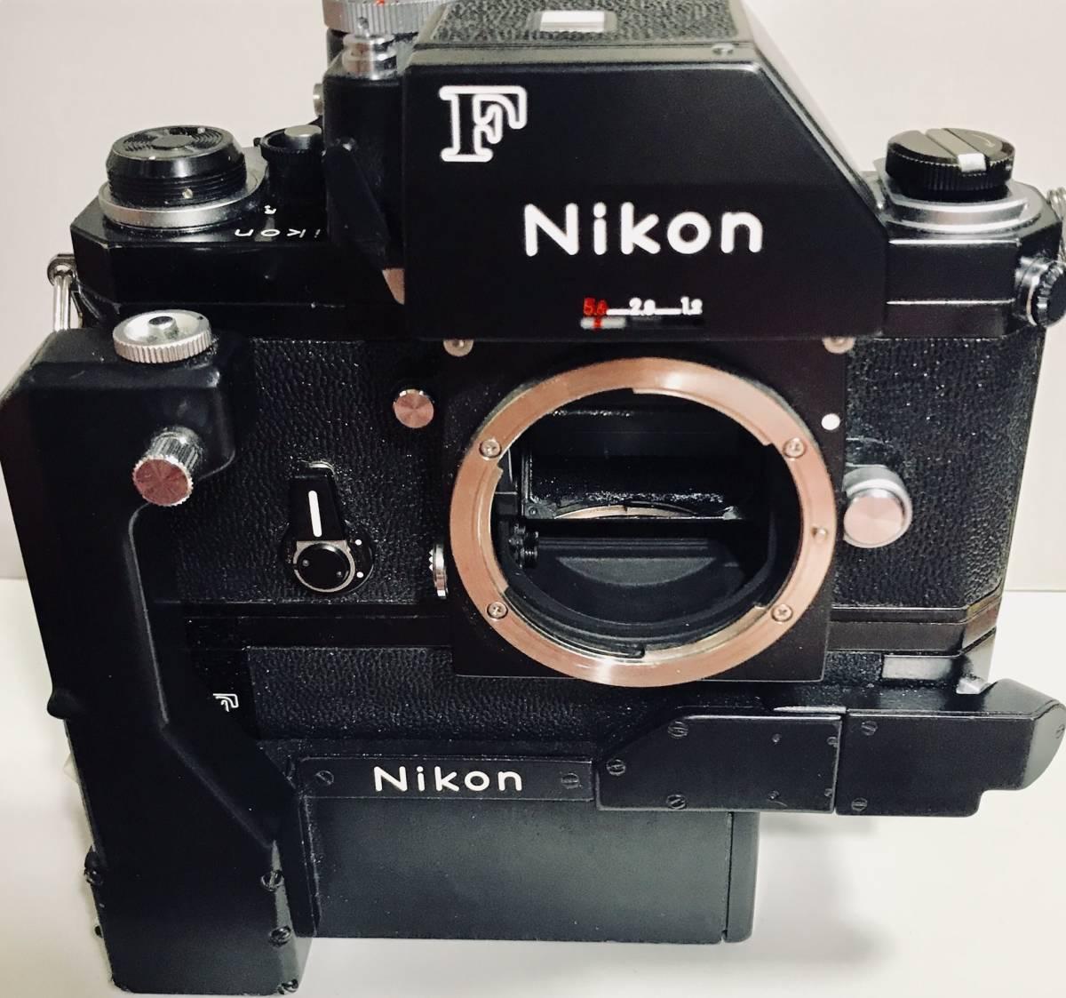 ニコンF FTN モータードライブF-36付き★ブラック★最後期型★キィートスで全てオーバーホール済み