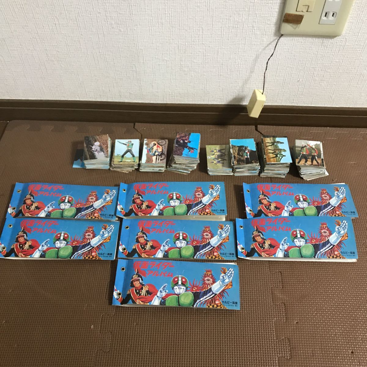 That Time Thing Kamen Rider Card Set Sale Approximately 490 Sheets