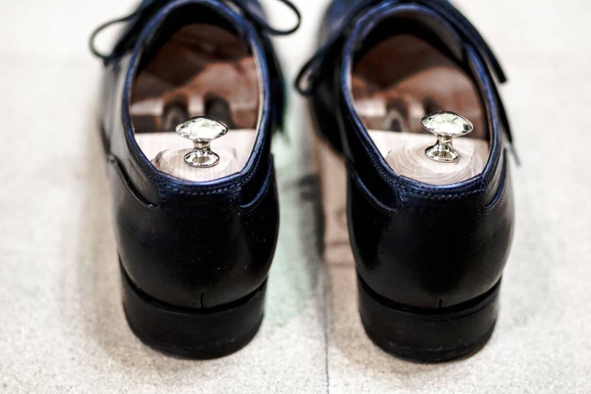 美品【F.lli Giacometti】 フラテッリジャコメッティ EUR 40 U ホースレザー コードバン / パラブーツ シャンボード ウエストン ゴルフ_画像6