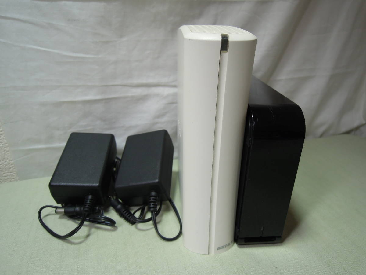 M2530■BUFFALO バッファロー/HD-LB1,0TU2/HD-CE1,0TU2/1TB/1TB/2台セット/フォーマット済み/外付けハードディスク