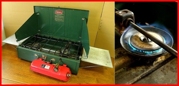 82 year made! Vintage Coleman 413H* put on fire has
