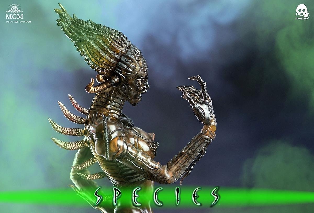 スピーシーズ 種の起源 シル S.I.L. 1/6 スリーゼロ Threezero 新品 未開封_画像8