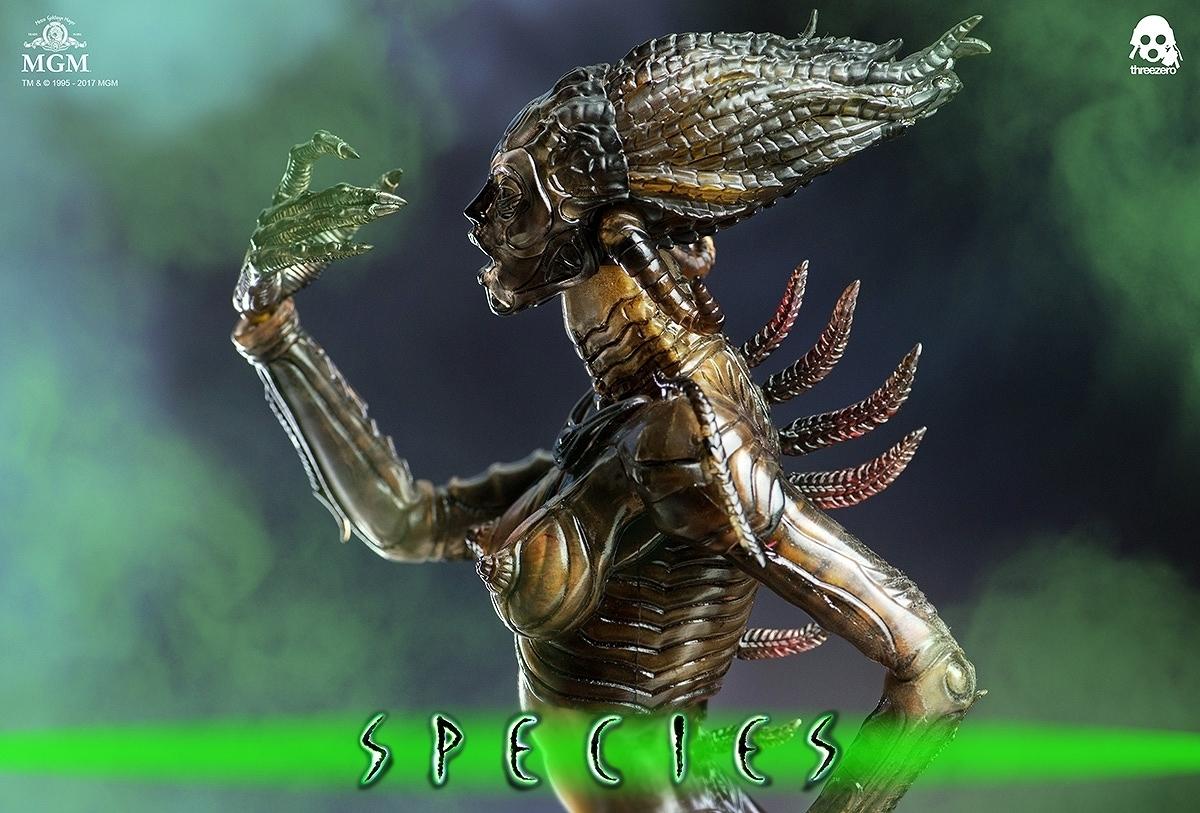 スピーシーズ 種の起源 シル S.I.L. 1/6 スリーゼロ Threezero 新品 未開封_画像7
