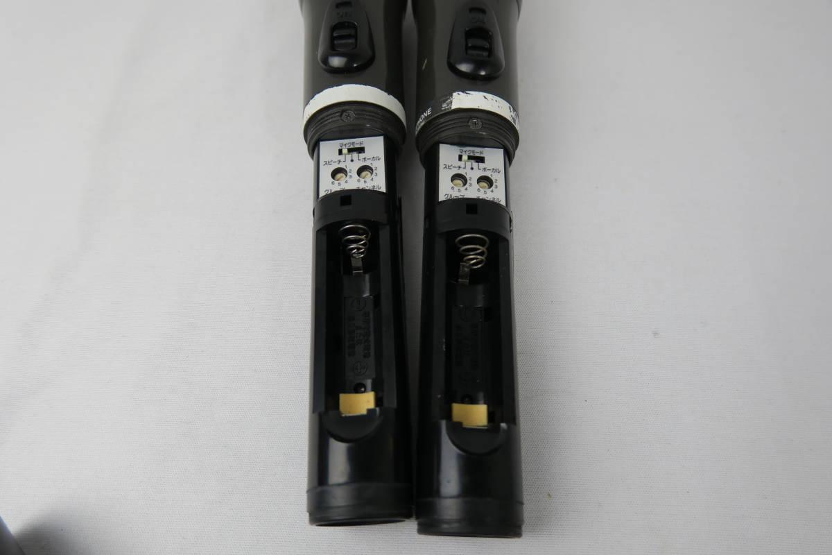 Victor WM-P760 ワイヤレスマイク 2本 ジャンク扱い_画像2