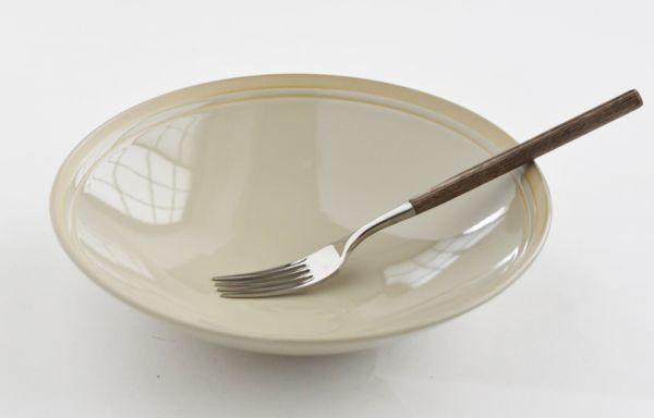 4枚セット■リンドスタイメスト■ 艶やかな  グレーベージュ  サラダボウル パスタ皿  カレー皿■ カラー食器  L-GB-SAB-21-4S_画像5