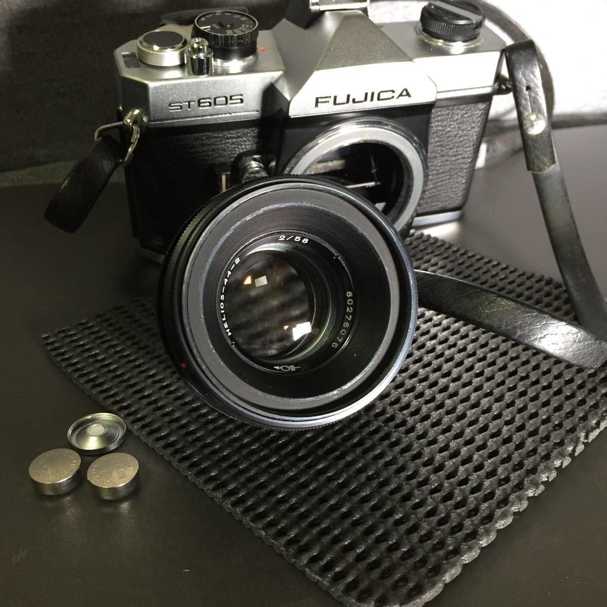 希少ぐるぐるボケレンズ helios 44 2 58mm f2 0 ソ連製標準単焦点 m42