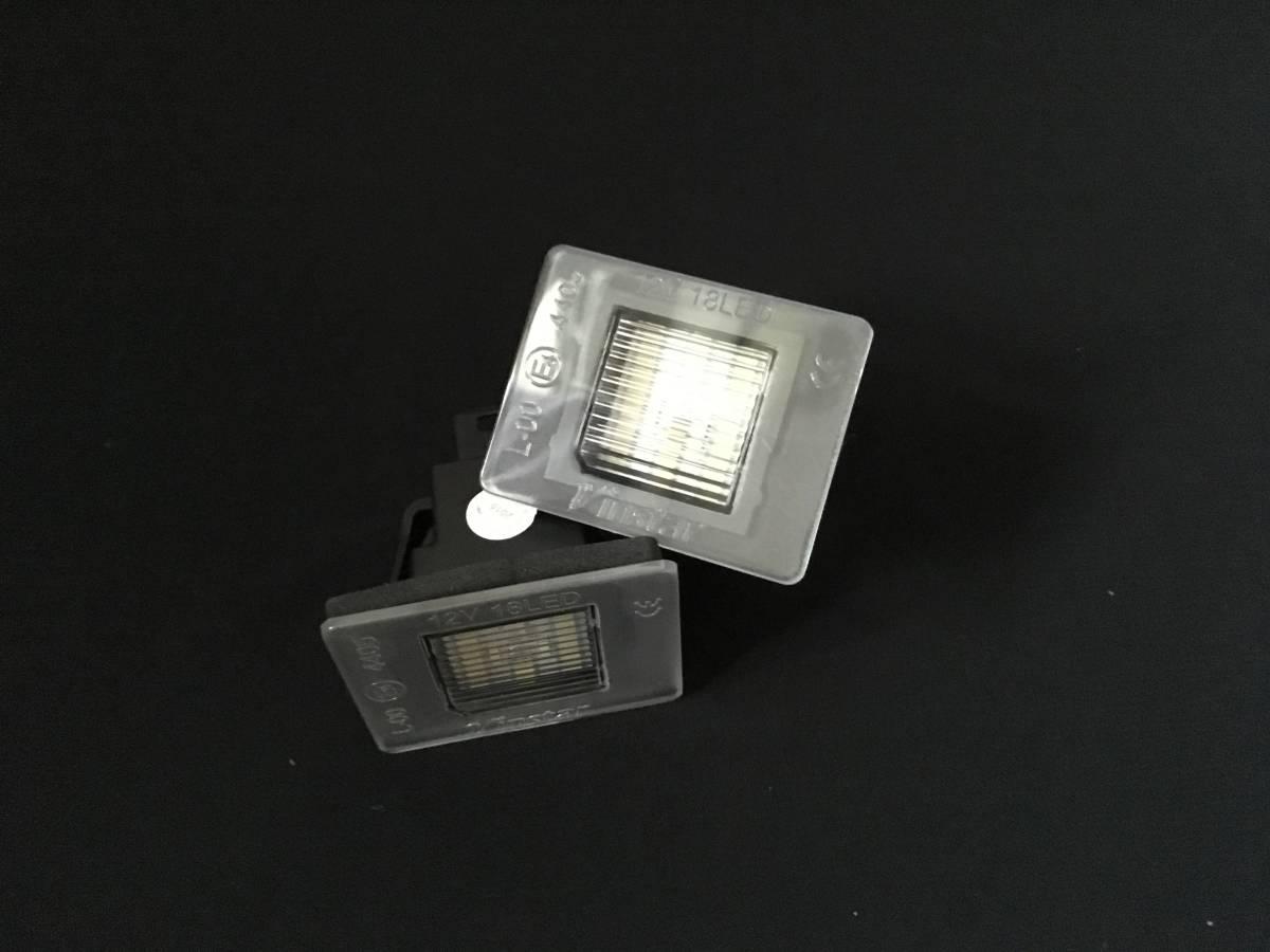リア/トランク/ライセンス/LED/ナンバー灯/ランプ/BENZベンツX204後期/GLK350AMG/4マチック/エクスクルーシブ/スポーツ/パッケージ/SCHWARZ_画像1