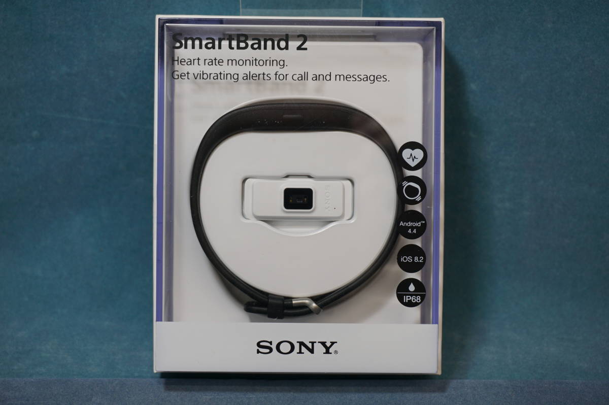 ソニー SmartBand2 SWR12JP/B  国内正規販売品 新品未開封_画像1