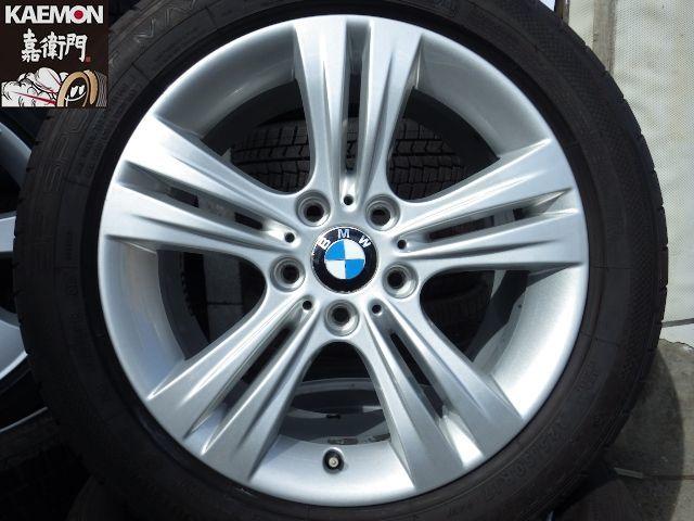 ★新品ピレリスタッドレスセット★ BMW F30 F31 3シリーズ 純正 ダブルスポーク392 17インチ X1 E84 E90 E91にも流用可能