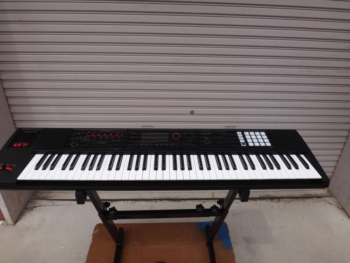 美品◆Roland/ローランド/ FA-07 Music Workstation 76鍵盤 2018年1月購入!◆税込_画像2