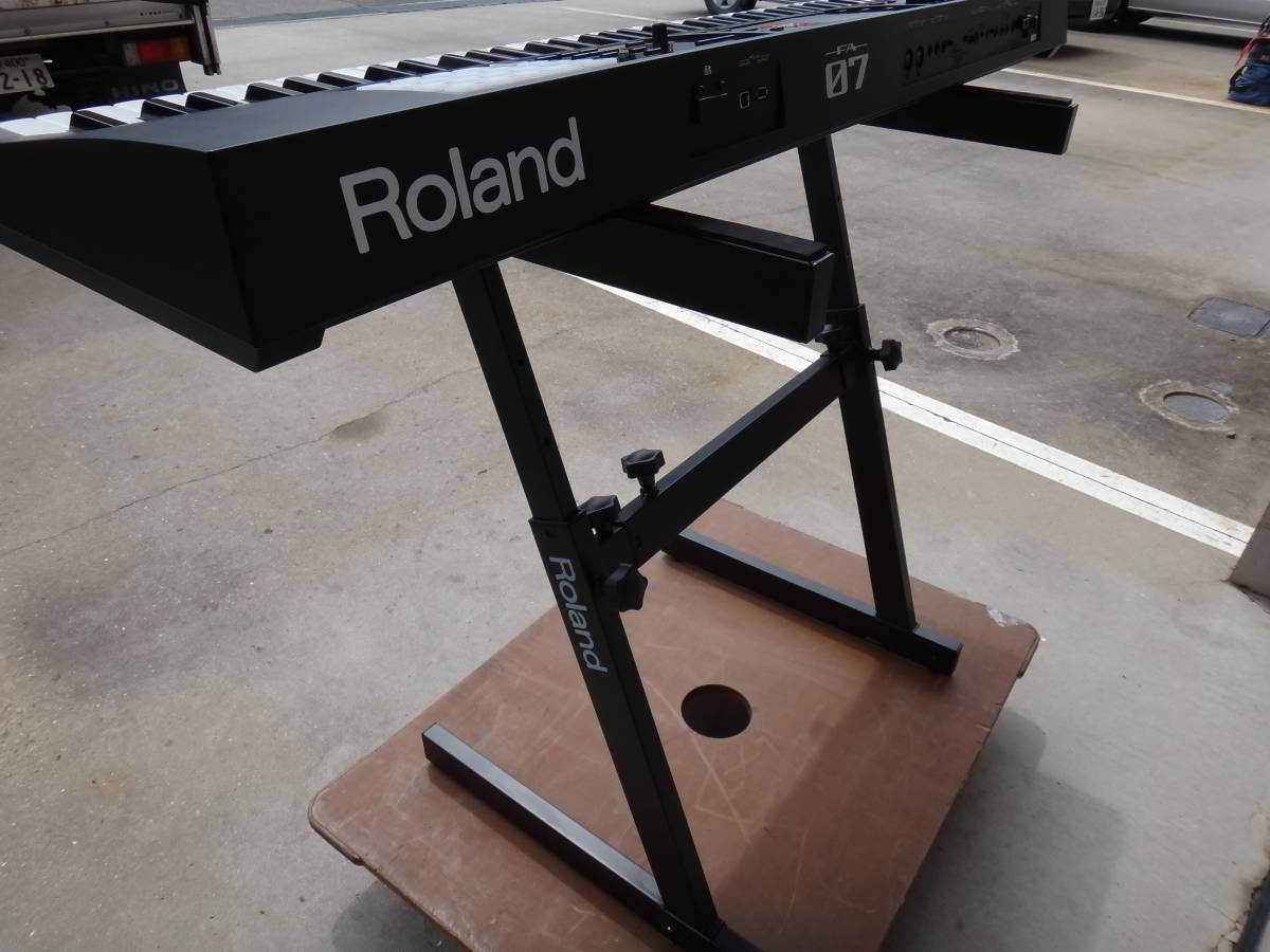 美品◆Roland/ローランド/ FA-07 Music Workstation 76鍵盤 2018年1月購入!◆税込_画像6