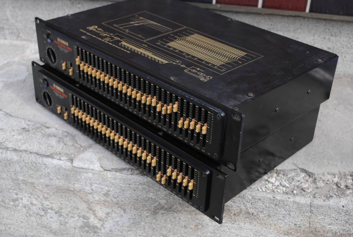 ヤマハ Model Q1027イコライザー(2台)8924完動品【3ヶ月保証】_画像4