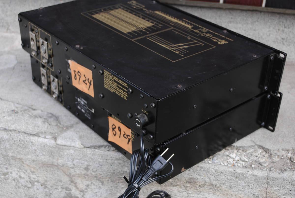 ヤマハ Model Q1027イコライザー(2台)8924完動品【3ヶ月保証】_画像5