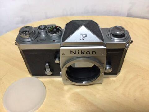 Nikon F 初期型(640Fにほとんど同じ641です)