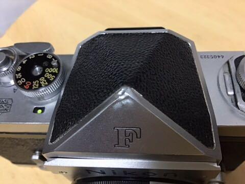 Nikon F 初期型(640F) NIKKOR-S auto 1:2 f=5cm付き_画像10