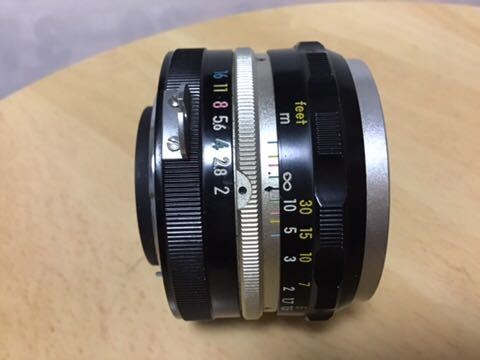 Nikon F 初期型(640F) NIKKOR-S auto 1:2 f=5cm付き_画像9