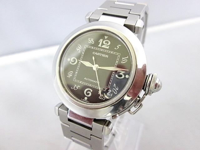 Cartier カルティエ パシャ デイト 自動巻き ボーイズ腕時計 動作品   60
