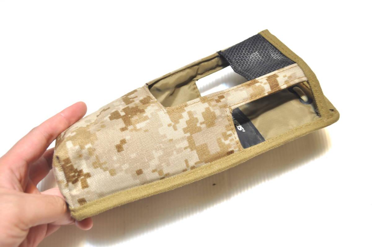 新品同様 米軍放出品 HARRIS ハリス AN/PRC-152 AOR デザート デジタル迷彩 無線機 ラジオポーチ/ USMC marsoc recon seals FSBE_画像2