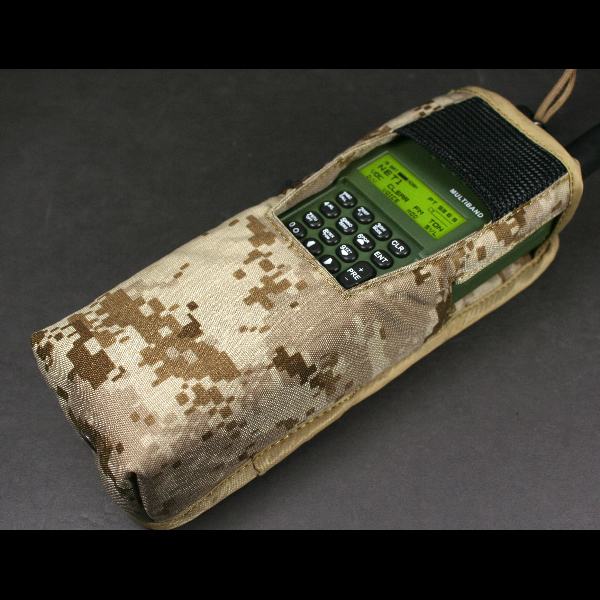 新品同様 米軍放出品 HARRIS ハリス AN/PRC-152 AOR デザート デジタル迷彩 無線機 ラジオポーチ/ USMC marsoc recon seals FSBE_画像5