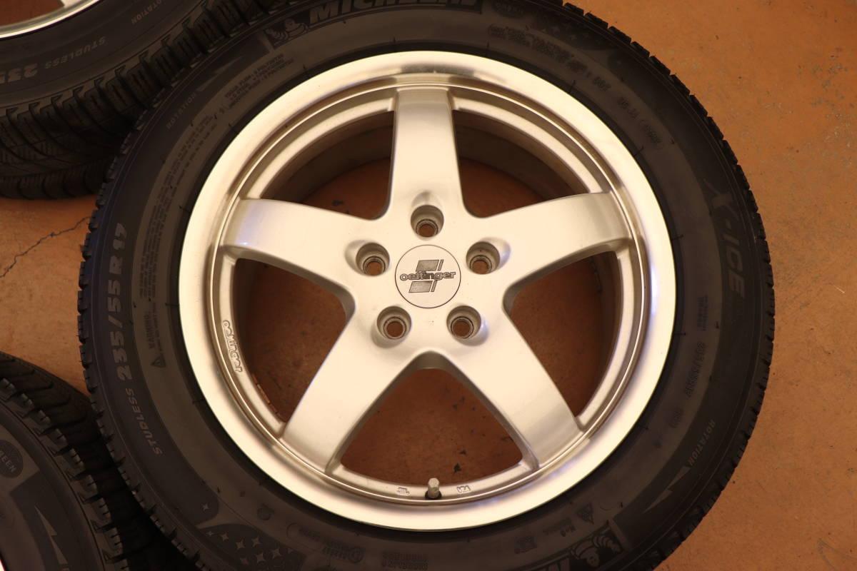 VWティグアン エッティンガー17インチアルミ+スタッドレスタイヤ4本セット_画像2