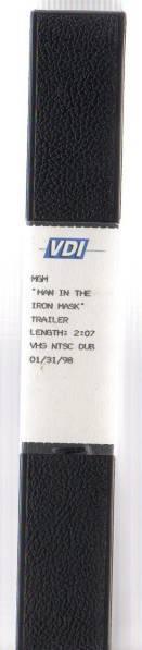 【SALE 鉄仮面コレクション 貴重品 激レアビデオ  MGM  MAN IN THE IRON MASK  TRAILER】激レア/オリジナル品_画像3