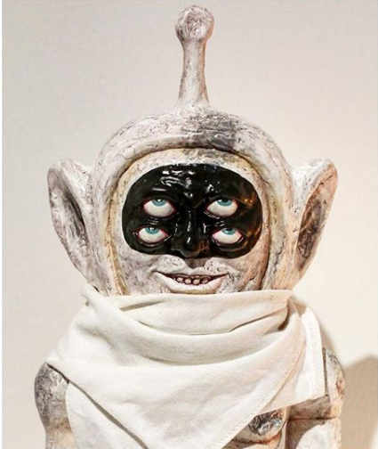 希少 新品 Kaiju Tan Truthbobo Black Hole ソフビ テレミミ トゥルーボーボー マック パンクドランカーズ アイツ クッキー_画像2