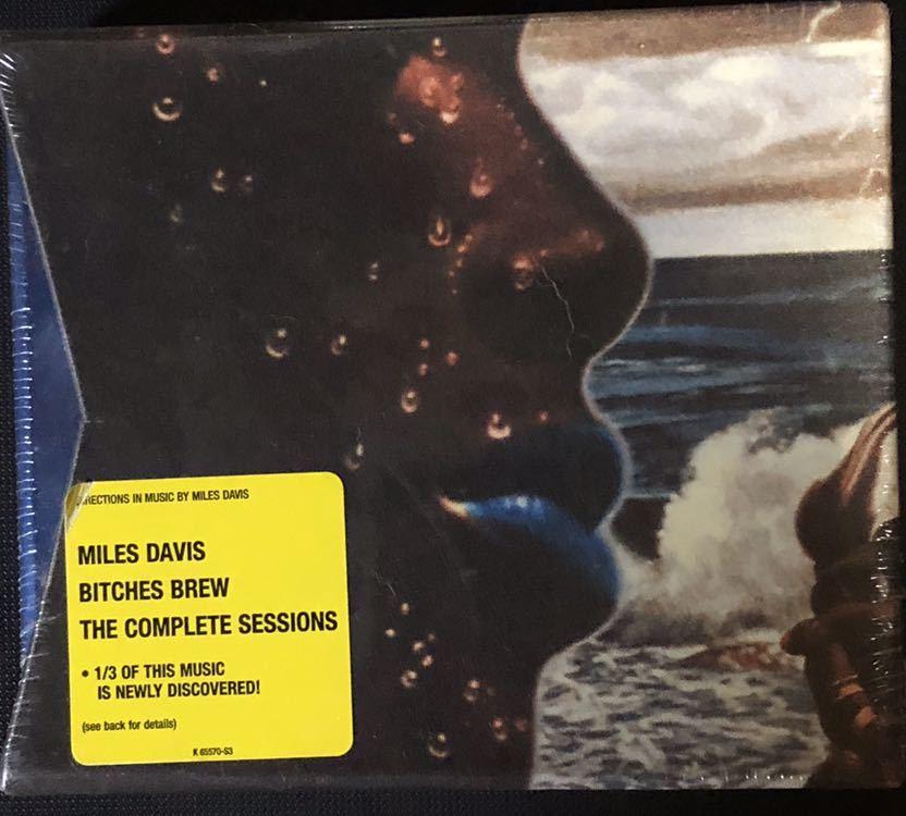 ジャズCD《 激レア 》マイルス・デイビス『 ビッチェズ・ブリュー・セッションズ・ザ・コンプリート 』 アメリカ版 初回盤 『 未開封』_画像1