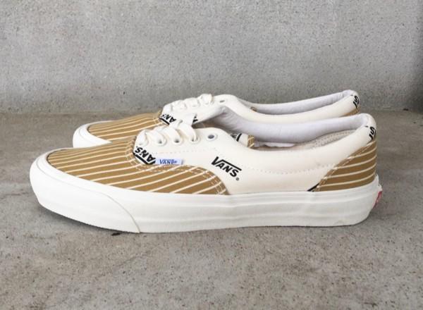 【USA購入 正規新品】VANS 限定ラインVAULTボルト 27.0cm エラERAマスタード ゴールド バンズ スニーカー靴シューズ☆8c10_画像2