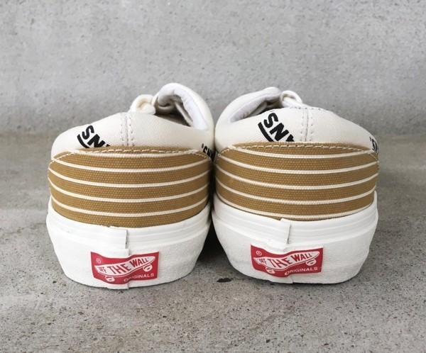 【USA購入 正規新品】VANS 限定ラインVAULTボルト 27.0cm エラERAマスタード ゴールド バンズ スニーカー靴シューズ☆8c10_画像3