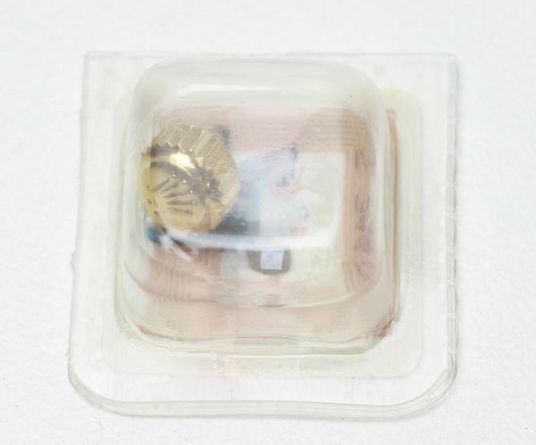 純正 新品 ロレックス ROLEX 7mm 24-703-8 リューズ 竜頭 ゴールド サブマリーナ デイトナ 16613 16523 部品 パーツ 181304_画像2