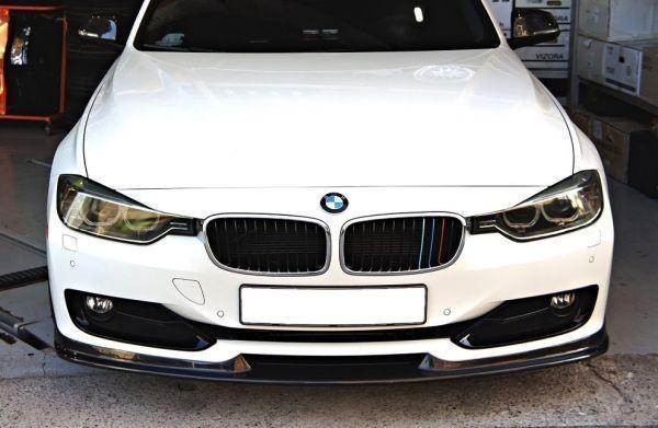 BMW F30/F31 3シリーズセダン/ツーリング ハイライン用 Hamanタイプカーボンフロントスポイラー/バンパーリップ/アンダーリップ/ハーマン_画像1