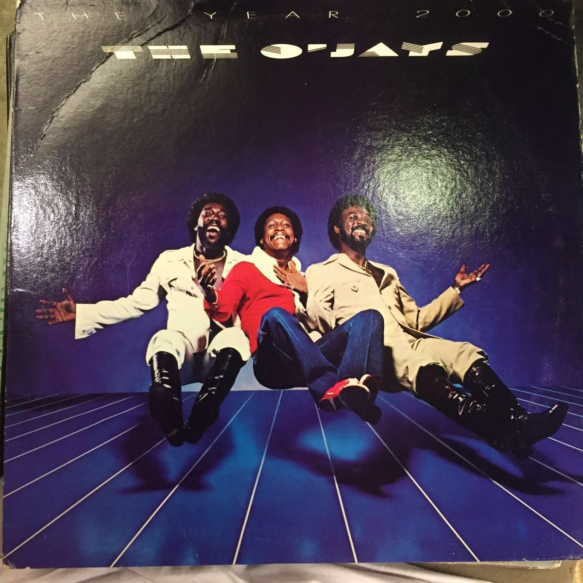 TSOP/THE O'JAYS/THE YEAR 2000/US盤 中古レコード_画像1