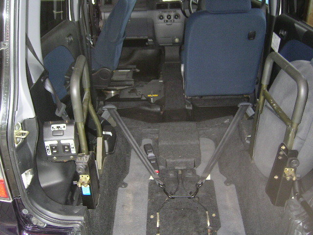 「★H17 L150S ムーヴ スローパー カスタム仕様 8ナンバー 車いす移動車 福祉車両 補強済★」の画像3