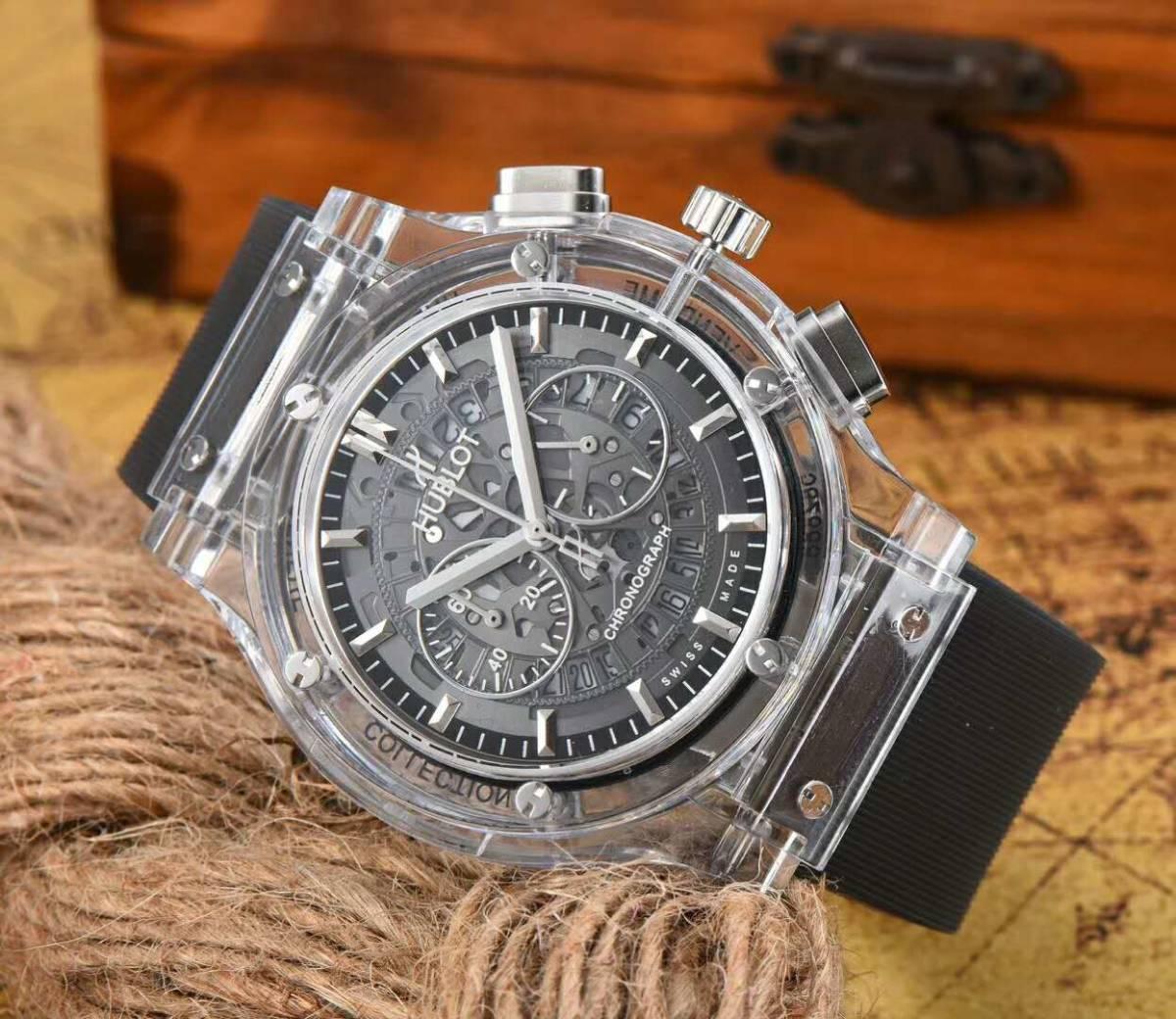 low priced d714b fc27d 腕時計 メンズ HUBLOT 未使用 ウブロ 時計 自動巻き /【Buyee ...
