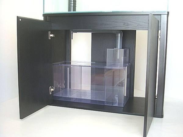 ★900×450オーバーフローガラス水槽セット★3重管仕様_ポンプは7500円でセット可能です