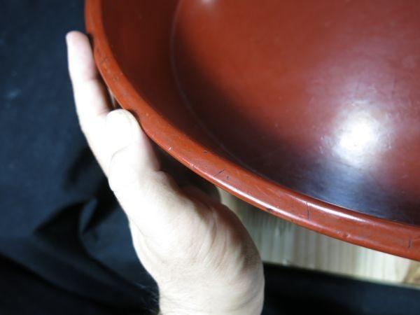 A 根来大盥① 桃山~江戸時代前期 博物館級 漆工 漆器 名品 寺院 信仰 仏教 僧侶_画像10