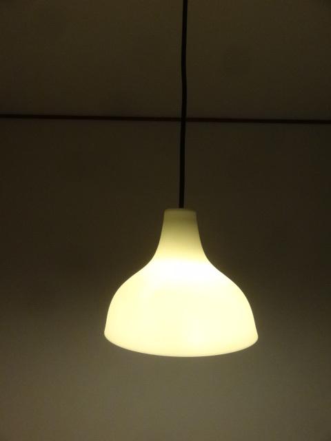無印良品 白磁シェード ペンダントライト 小 LED対応 照明