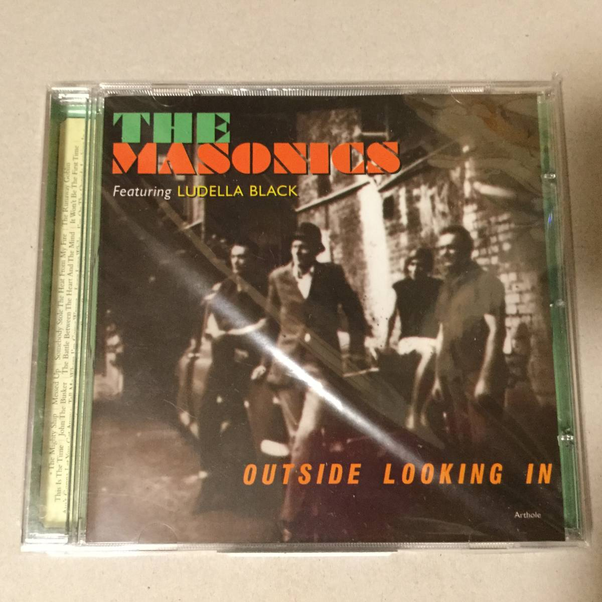 The Masonics CD Milkshakes Headcoats Headcoatees Garage Punk Rock ガレージロック_画像1
