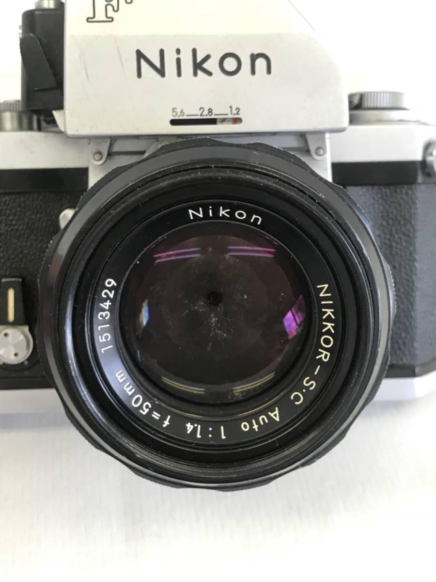 NIKON F 7434525 NIKKOR-S.C Auto 1:1.4 f=50mm_画像2