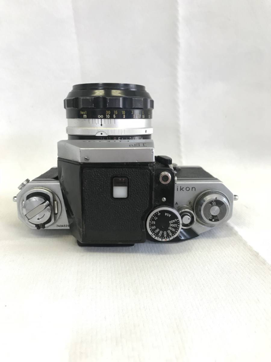 NIKON F 7434525 NIKKOR-S.C Auto 1:1.4 f=50mm_画像3