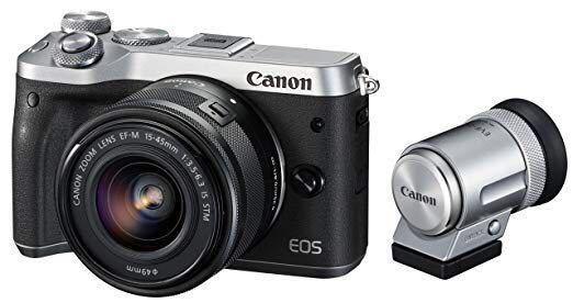 総額155,833円相当 Canon ミラーレス一眼カメラ EOS M6 レンズ2本 その他セット