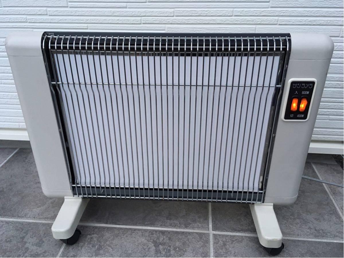 美品 ニューセラミックヒーター サンラメラ 600W型 遠赤外線輻射式暖房器