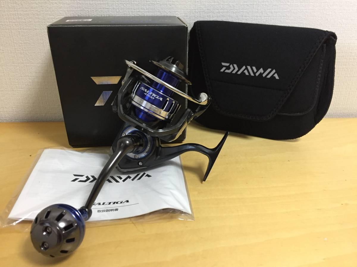 DAIWA ダイワ 15ソルティガ 4500 SALTIGA スピニングリール ジギング 新品・未使用品