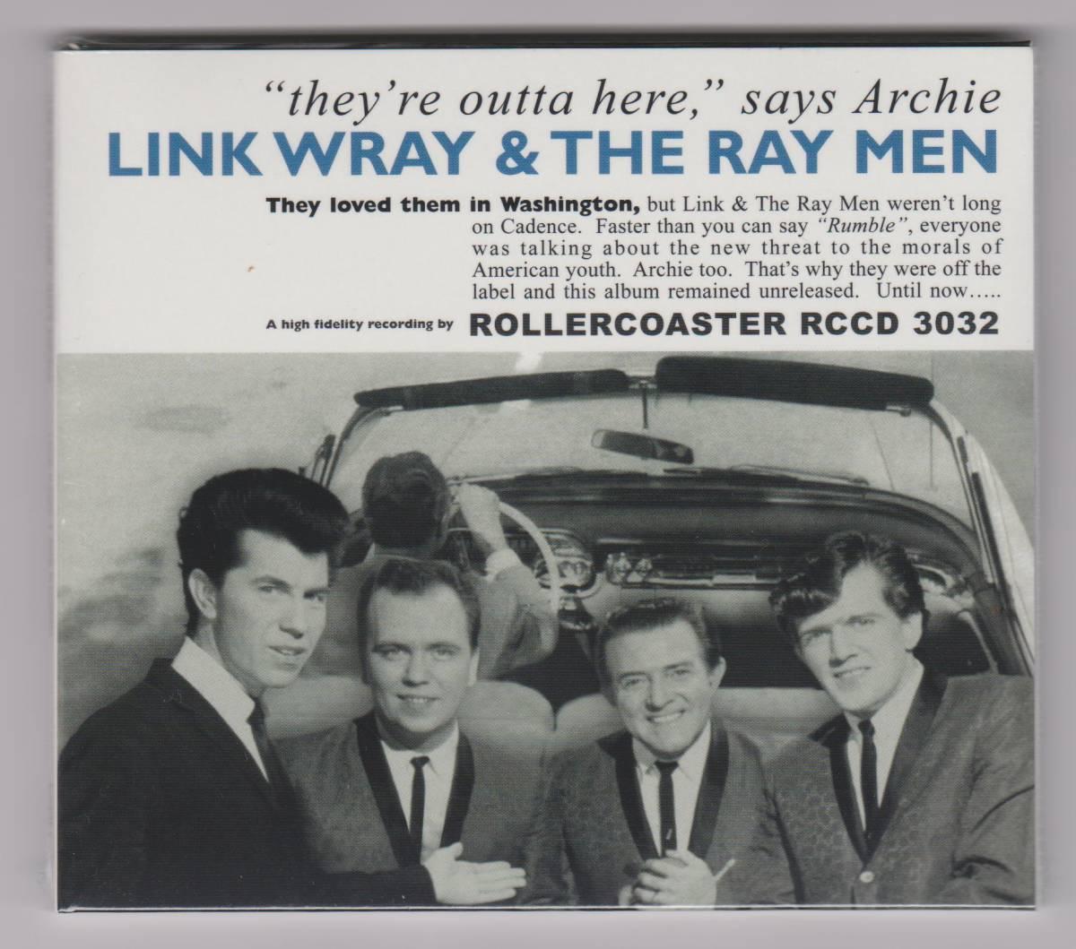 """【新品/輸入盤CD紙ジャケット仕様】LINK WRAY AND THE RAY MEN/""""They're Outta Here,"""" Says ARCHIE_画像1"""